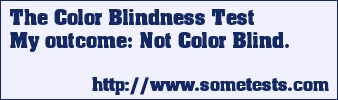 The Color Blindness Test